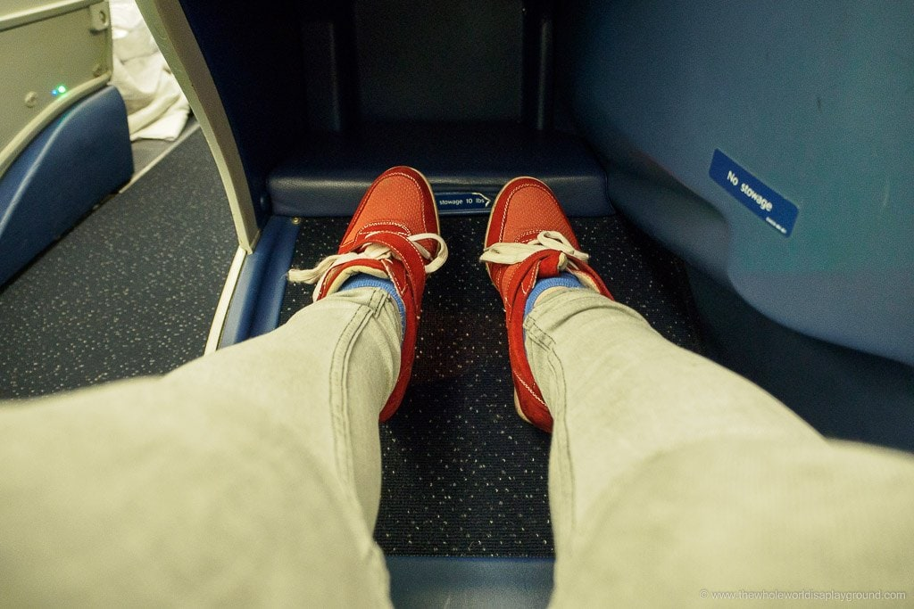 Delta business class review ©thewholeworldisaplayground