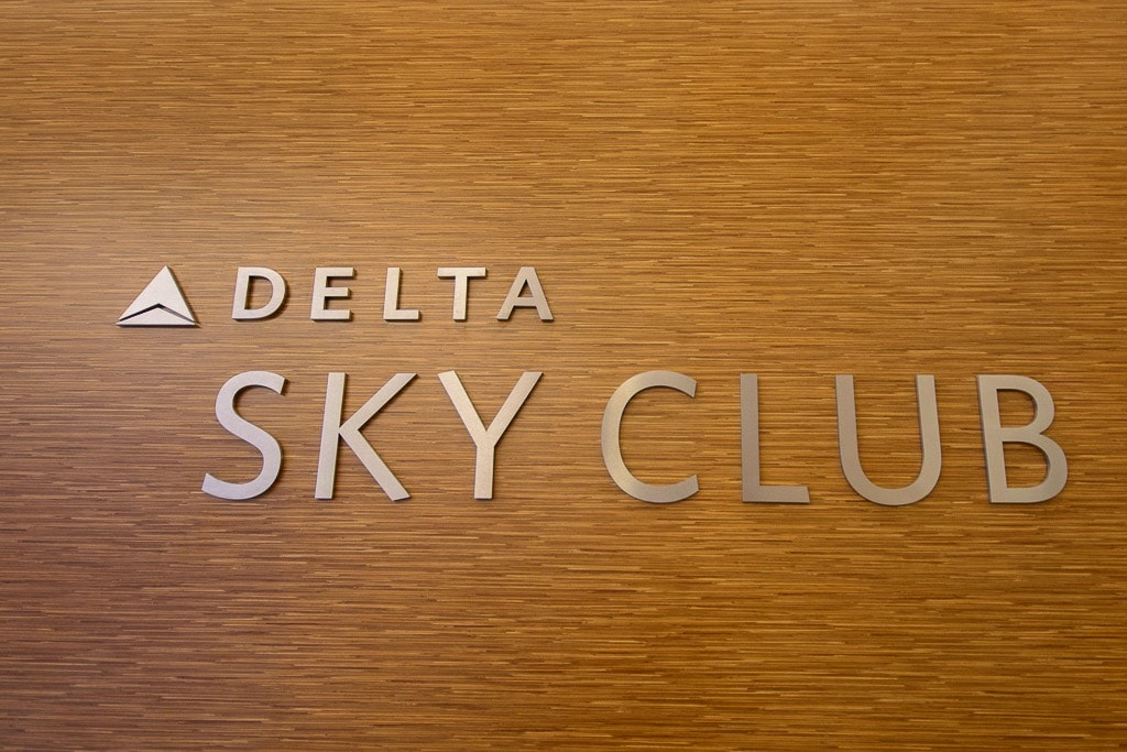 Delta Sky Club Business Class Lounge, Terminal 4, JFK, New York