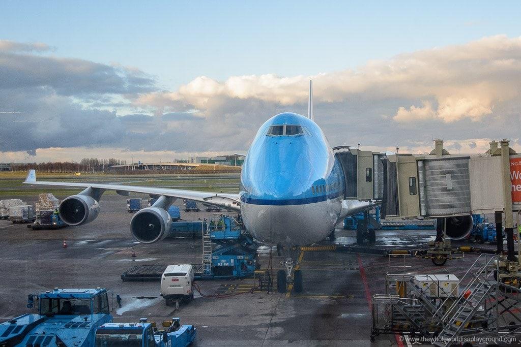KLM 2016 travel plans ©thewholeworldisaplayground.com