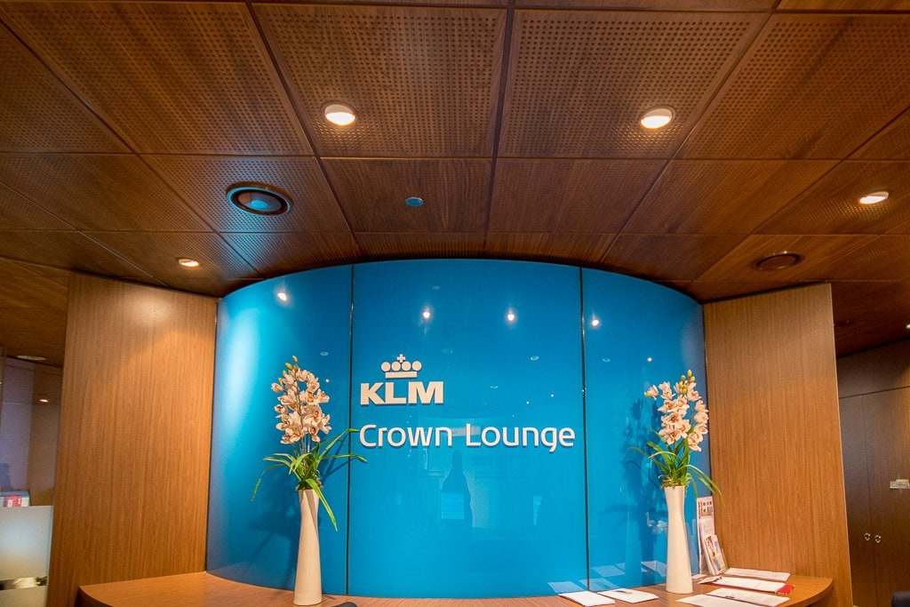 KLM Business Class Crown Lounge, Schiphol Airport, Amsterdam