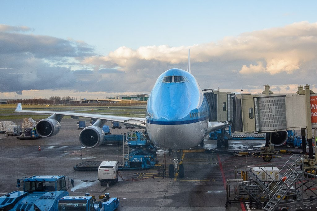 KLM Business Class Review Amsterdam New York