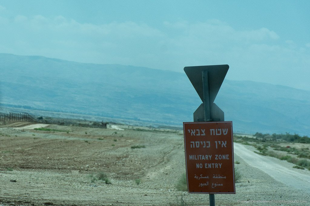 How to cross border Israel Jordan King Hussein ©thewholeworldisaplayground