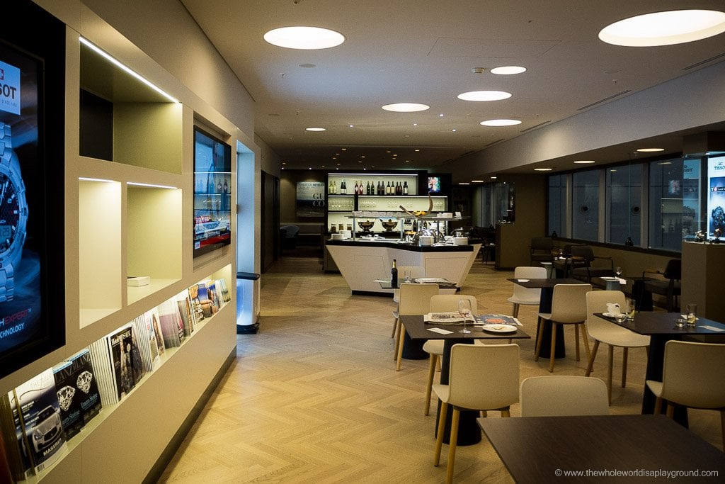 OneWorld Lounge, Zurich Airport, Switzerland