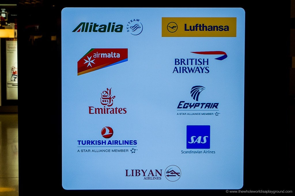 la valette lounge malta airport ©thewholeworldisaplayground