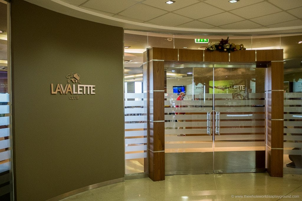La Valette Club Executive Airline Lounge: Malta International Airport