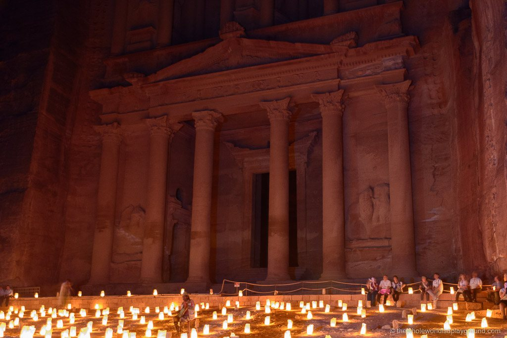 Petra At Night © thewholeworldisaplayground