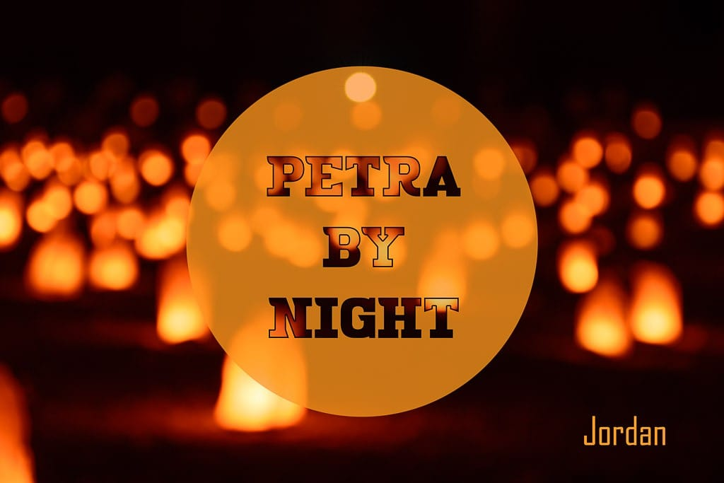 Petra At Night-cover