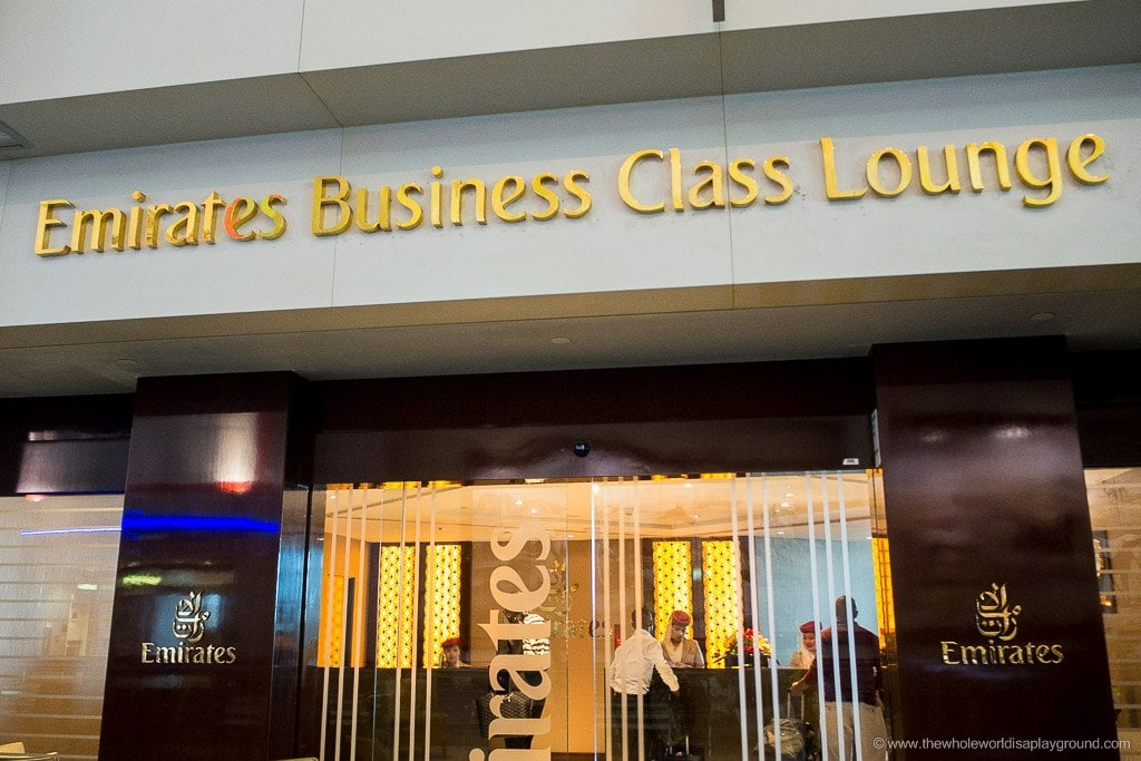Emirates Business Class Lounge: C Gates, Dubai Airport