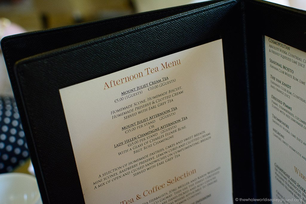 Mount Juliet Afternoon Tea ©thewholeworldisaplayground