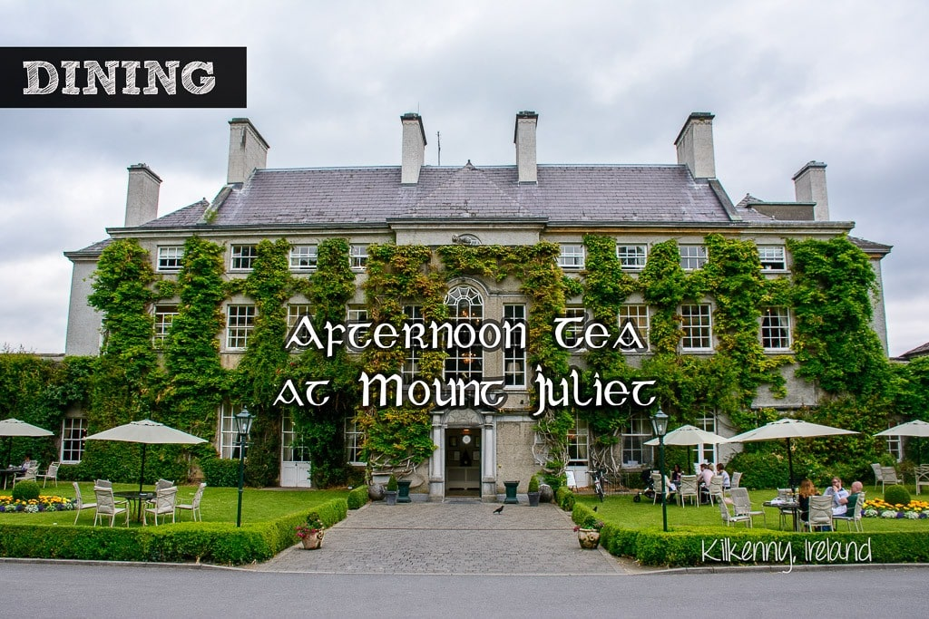 Afternoon Tea and Cocktail Treats! Mount Juliet Hotel, Kilkenny