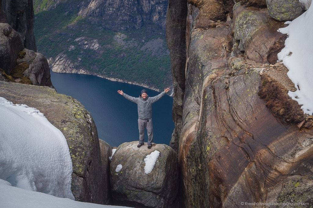 The Kjerag Hike Norway In Pursuit Of Kjeragbolten The