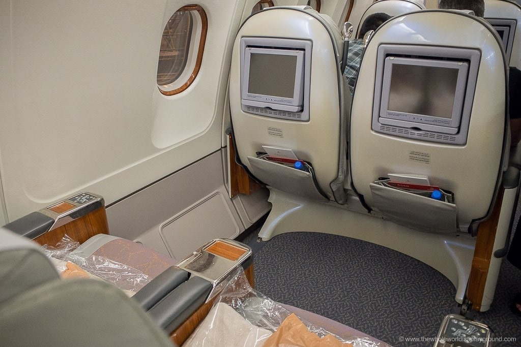 Emirates Dubai Ho Chi Minh Business Class Review ©thewholeworldisaplayground
