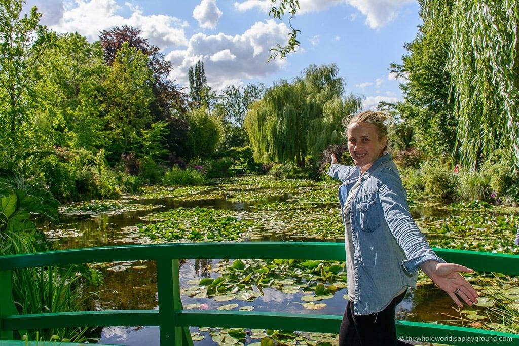 Monet's Gardens Giverny day trip Paris ©thewholeworldisaplayground