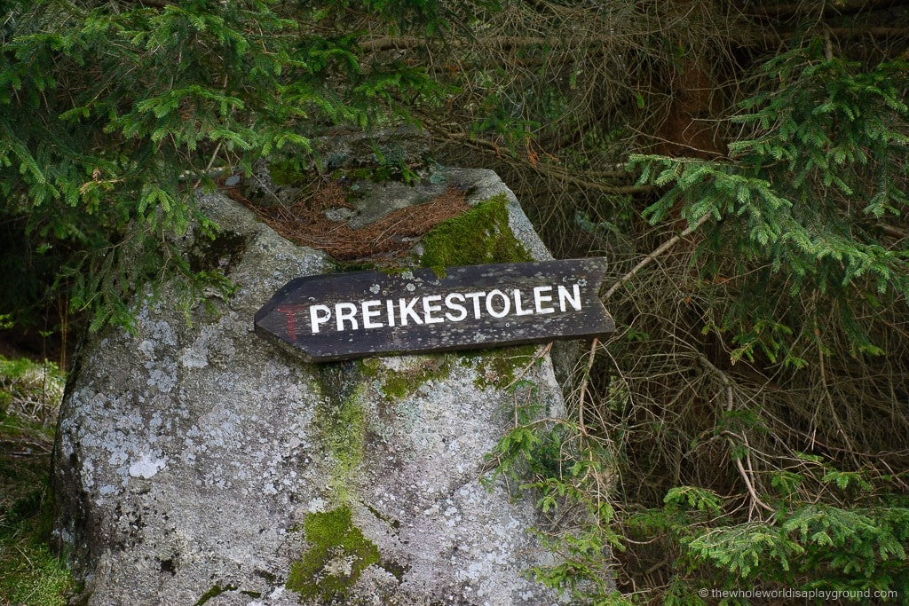 pulpit rock hike parking