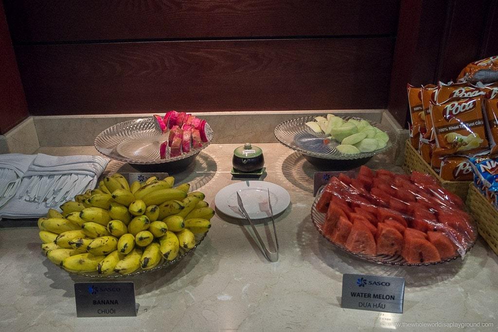 Emirates Business Class Lounge Ho Chi Minh ©thewholeworldisaplayground