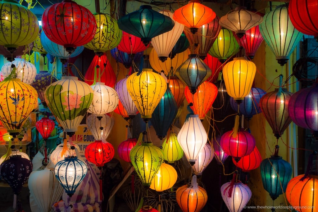 Hoi An Full Moon Lantern Festival ©thewholeworldisaplayground