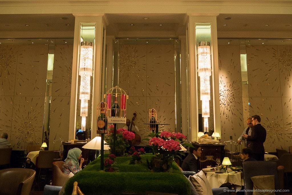 Langham London Hotel Review ©thewholeworldisaplayground