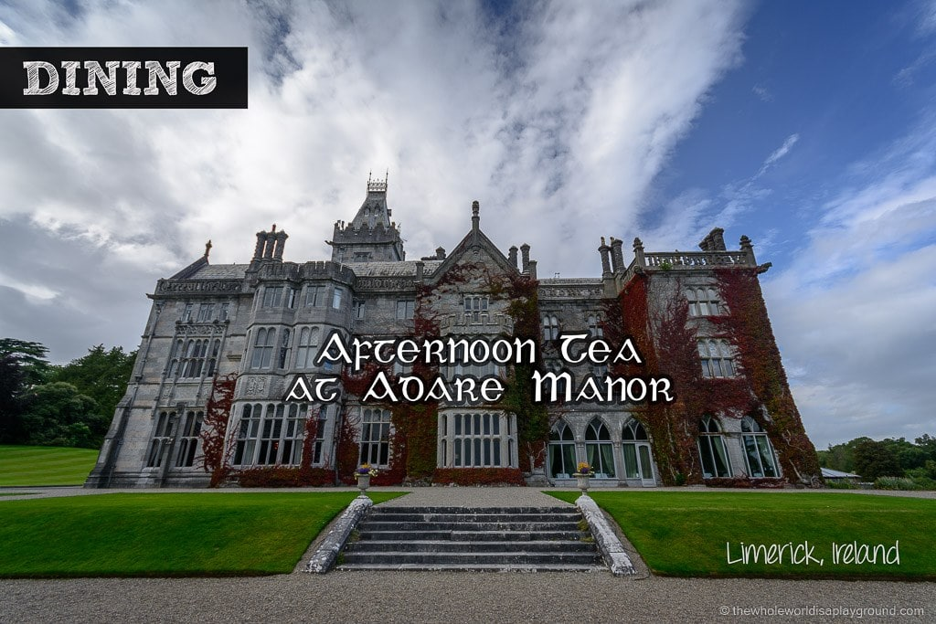 Adare Manor Afternoon Tea Ireland