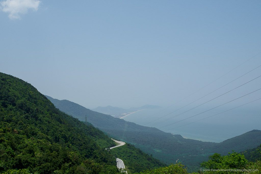 Driving the Hai Van Pass by car ©thewholeworldisaplayground