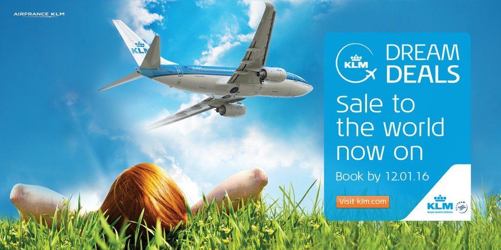 KLM Dream Deals January 2016