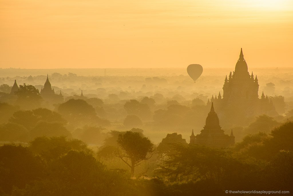 The Best Bagan Sunrise Our Favourite Temple For The