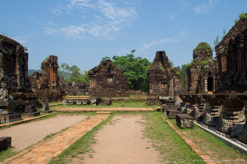 My Son Sanctuary, Vietnam: a half day trip from Hoi An to the UNESCO ruins!