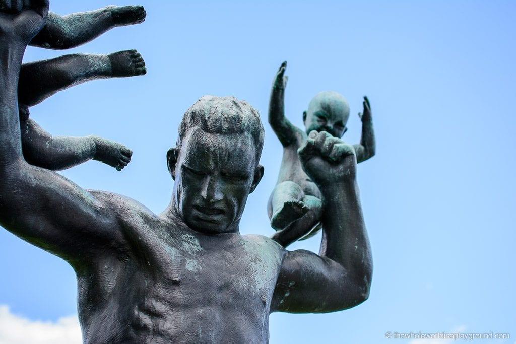 Norway Vigeland Sculpture Park ©thewholeworldisaplayground