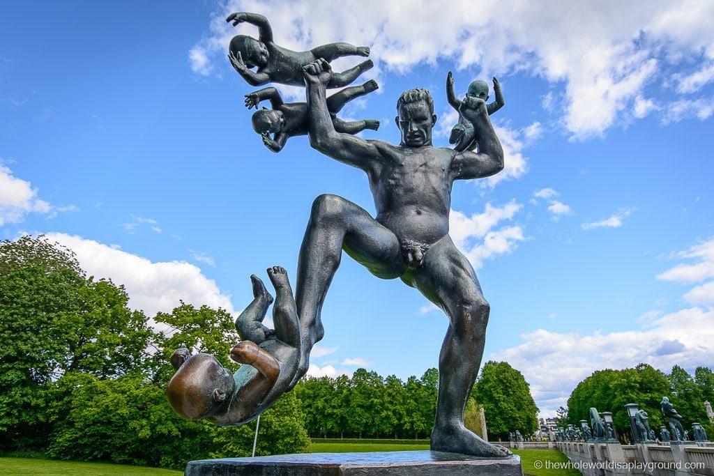 Norway Vigeland Sculpture Park-8