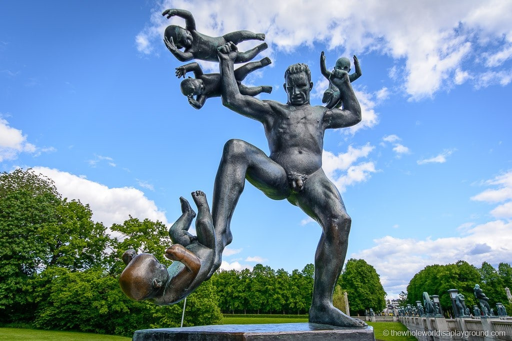 Vigeland Park, Oslo: 15 of the craziest, weirdest and wonderful sculptures!