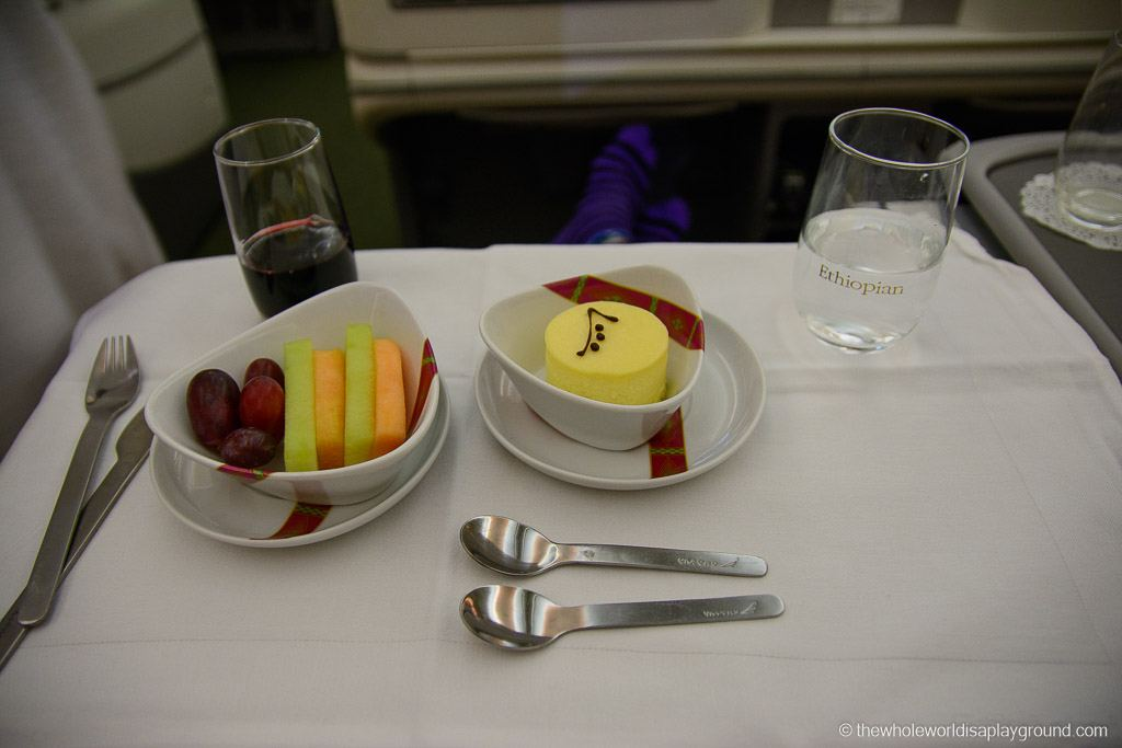 Ethopian Airlines Dreamliner Business Class Review Dublin Addis Ababa-17