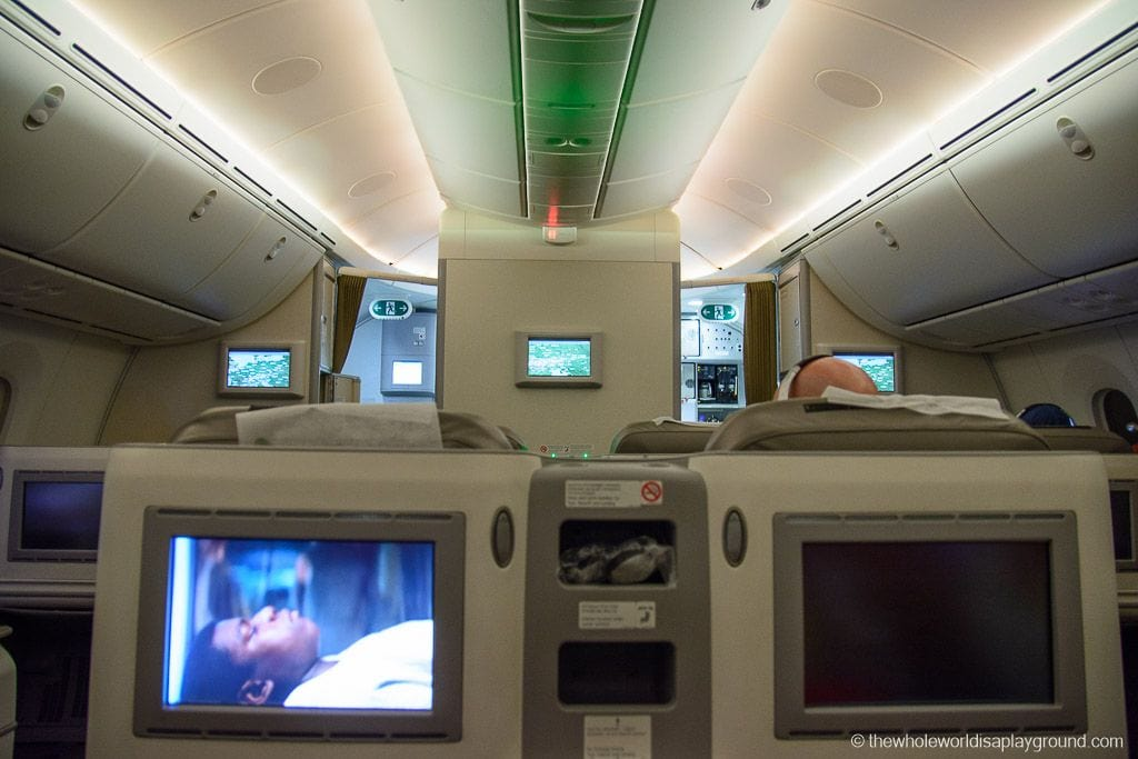 Ethopian Airlines Dreamliner Business Class Review Dublin Addis Ababa-18