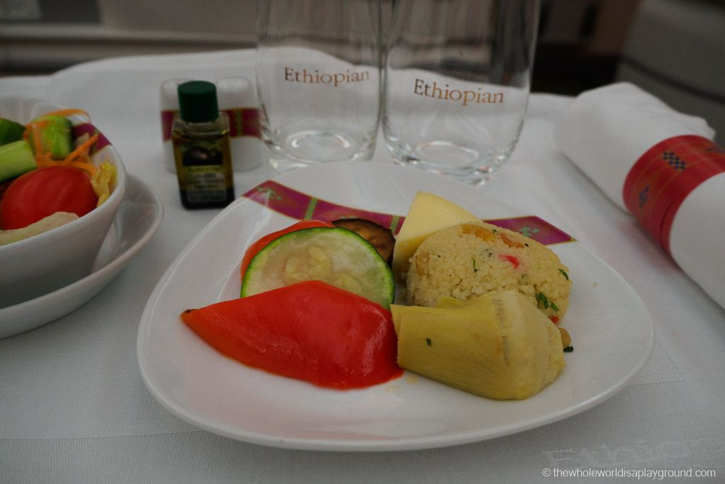 Ethopian Airlines Dreamliner Business Class Review Dublin Addis Ababa-22