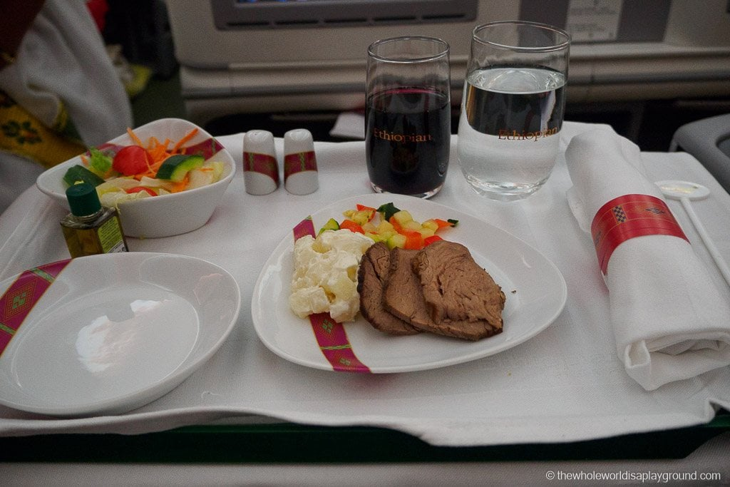 Ethopian Airlines Dreamliner Business Class Review Dublin Addis Ababa-23
