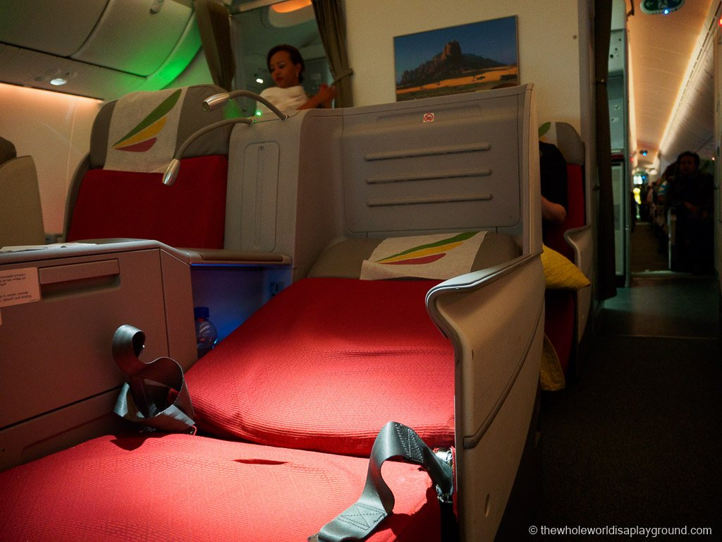 Ethopian Airlines Dreamliner Business Class Review Dublin Addis Ababa-28