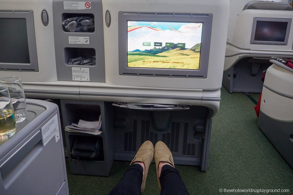 Ethopian Airlines Dreamliner Business Class Review Dublin Addis Ababa-3
