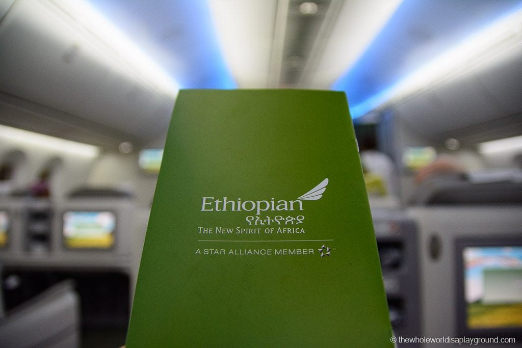 Ethopian Airlines Dreamliner Business Class Review Dublin Addis Ababa-6
