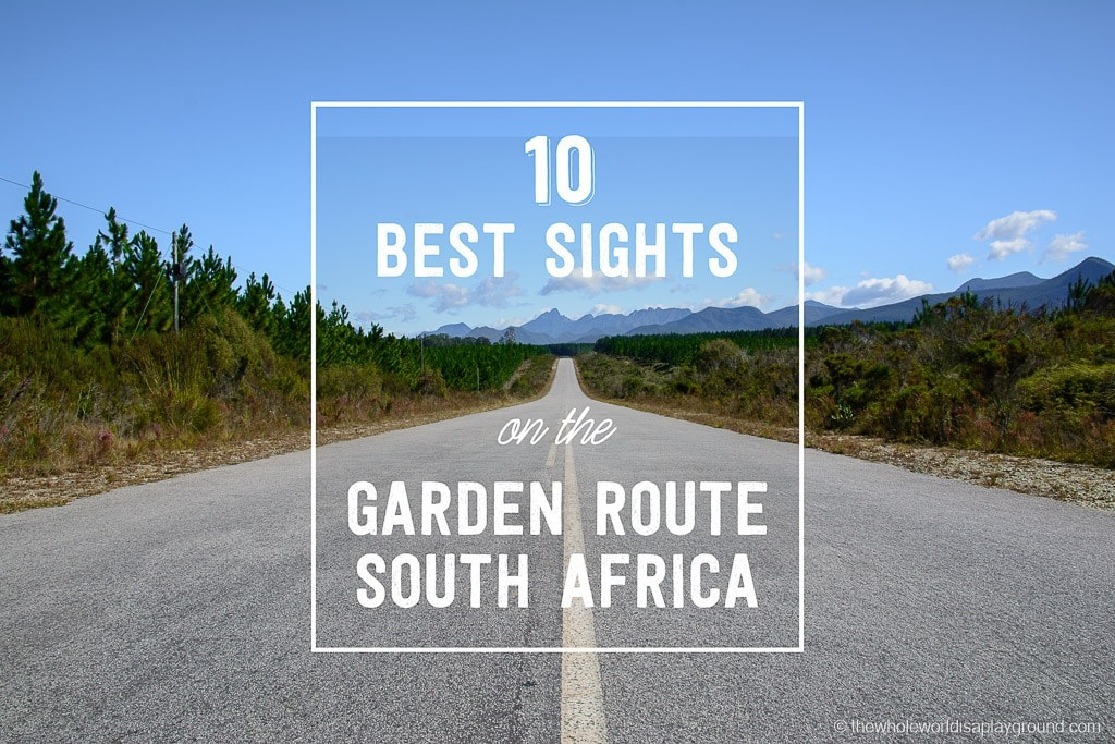 Best Sights on the Garden Route South Africa