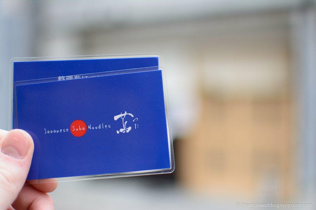 How to Michelin Star Ramen Tsuta Tokyo-5