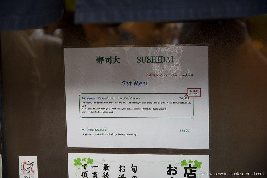 Sushi Dai Tsukiji Fish Market Tokyo-3