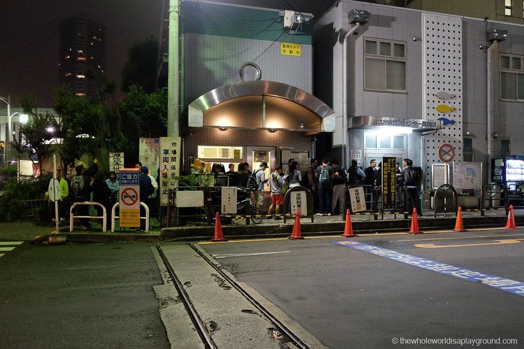 Visit Tsukiji fish market tuna auction Tokyo-2