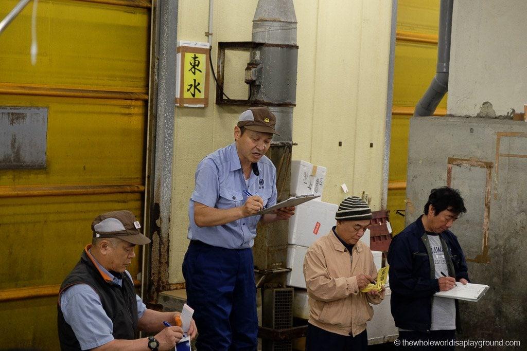 Visit Tsukiji fish market tuna auction Tokyo-36