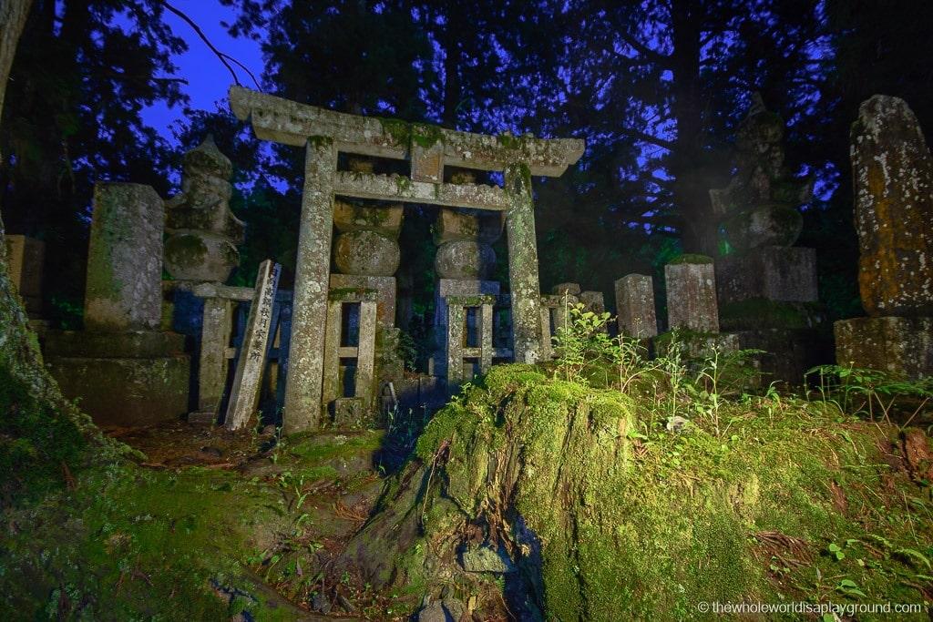 Japan Okunoin Cemetery Mount Koya Koyasan-12