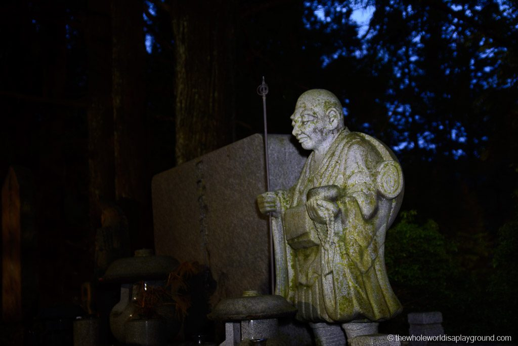 Japan Okunoin Cemetery Mount Koya Koyasan-13