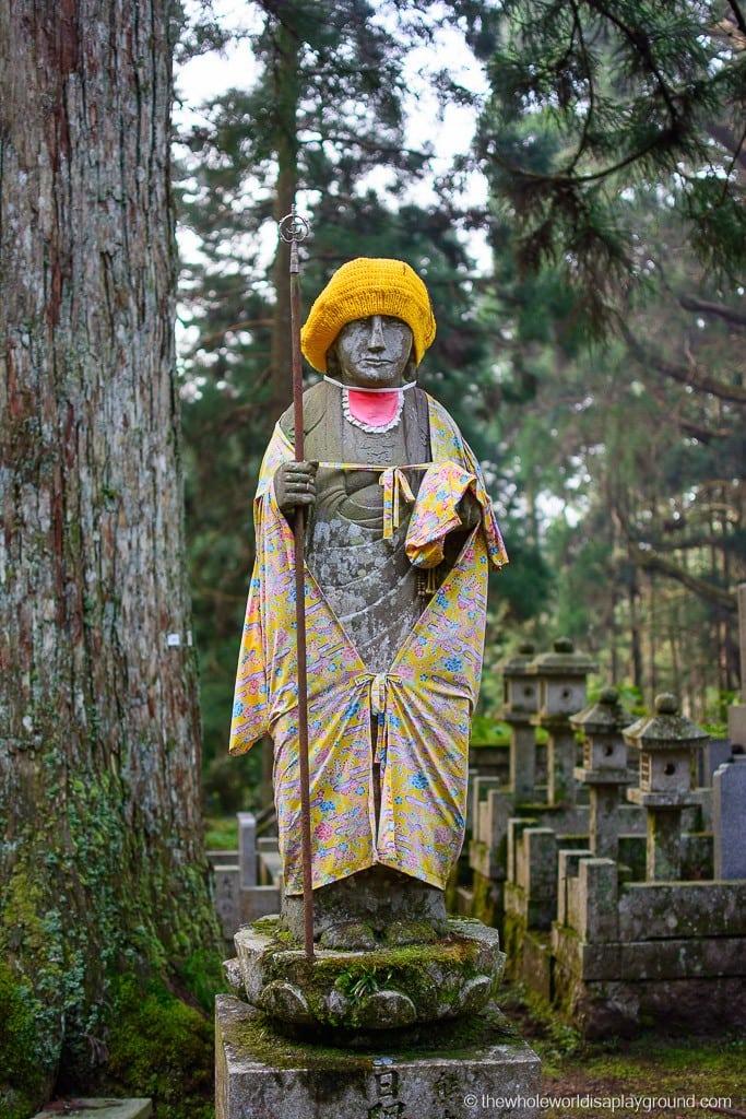 Japan Okunoin Cemetery Mount Koya Koyasan-25