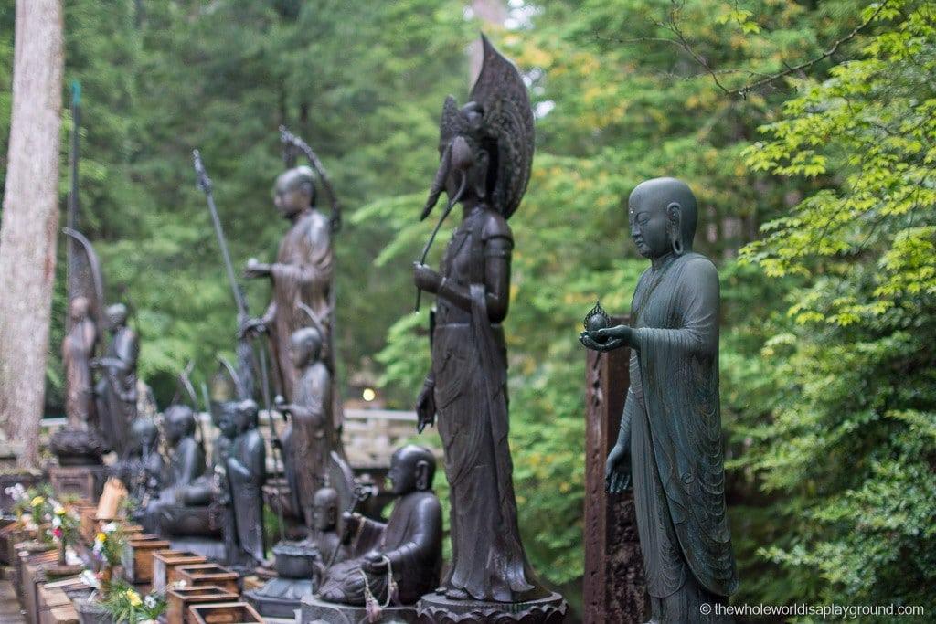 Japan Okunoin Cemetery Mount Koya Koyasan-37