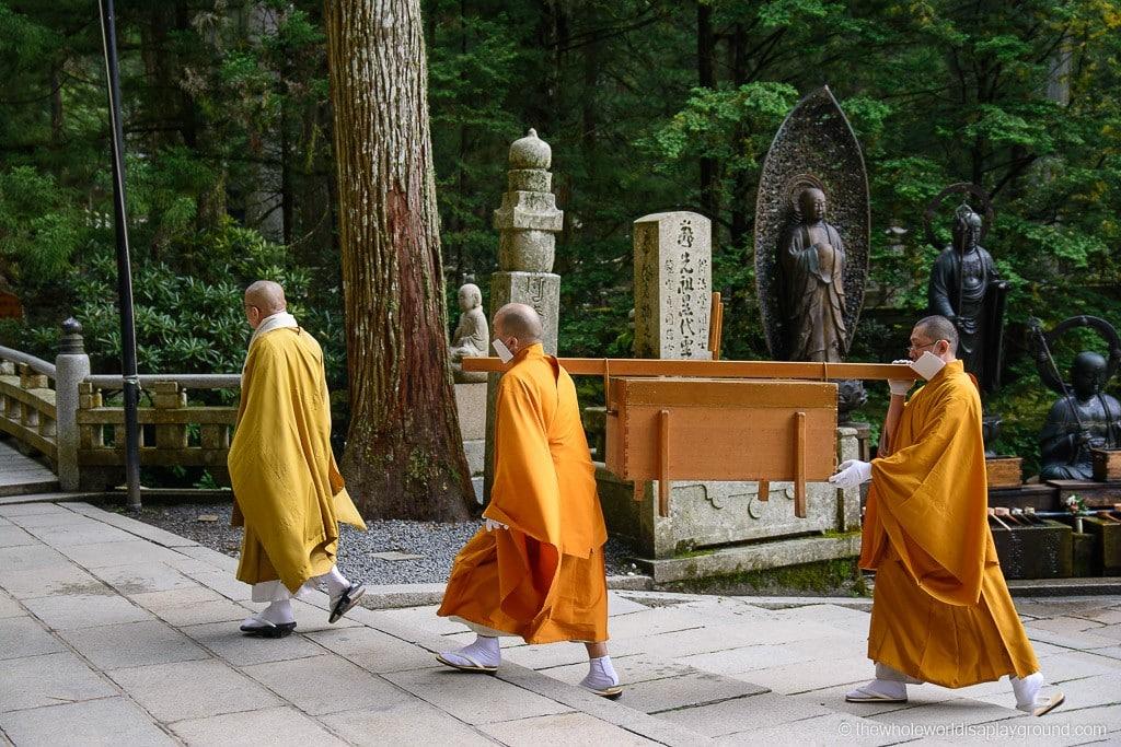 Japan Okunoin Cemetery Mount Koya Koyasan-38
