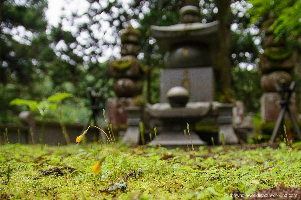 Japan Okunoin Cemetery Mount Koya Koyasan-4