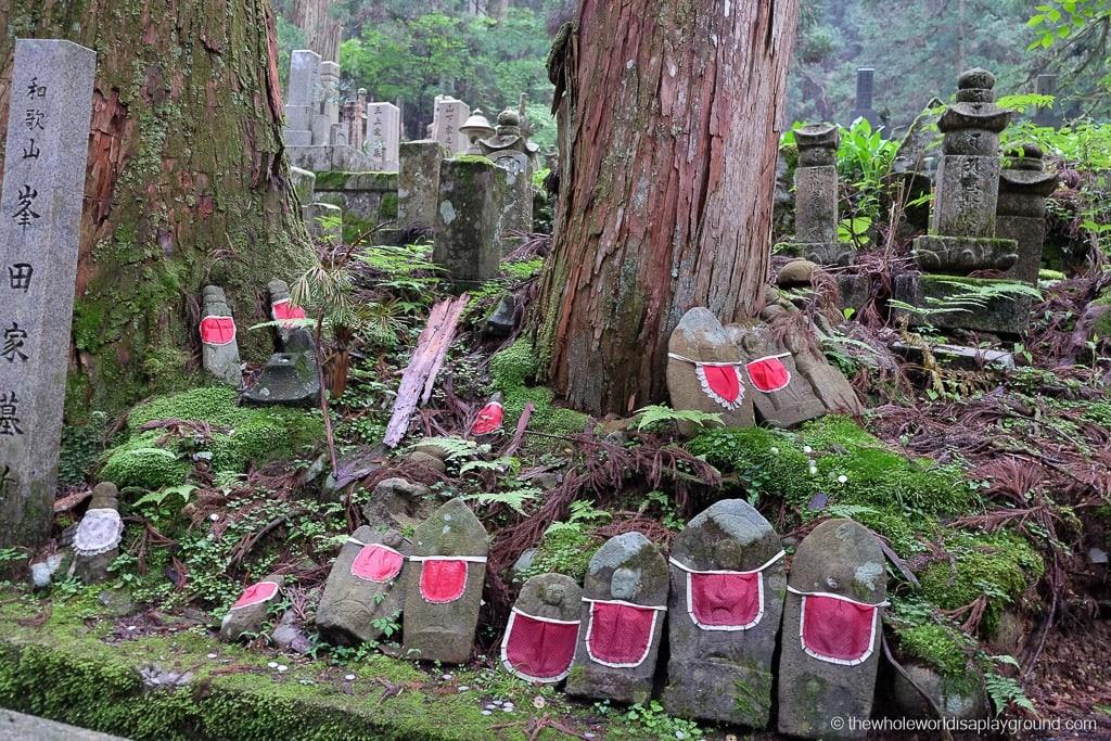 Japan Okunoin Cemetery Mount Koya Koyasan-8