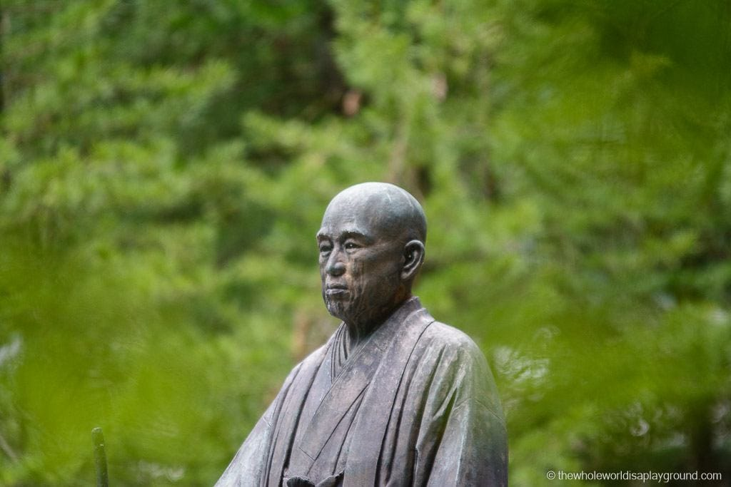 Japan Okunoin Cemetery Mount Koya Koyasan-9