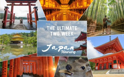 Japan Ultimate 2 Week Itinerary! Week 1: Kyoto, Hiroshima, Koyasan, Takayma and Nara